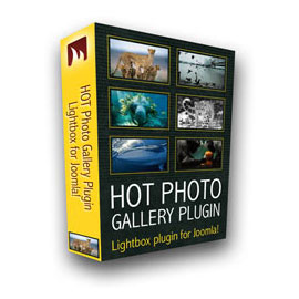 Hot Photo Gallery Plugin for Joomla