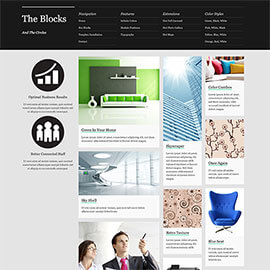 Blocks Responsive Template