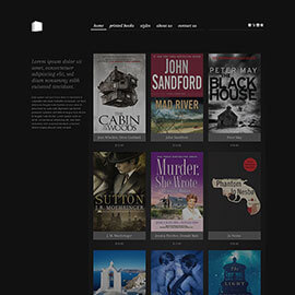 Joomla Bookstore Template