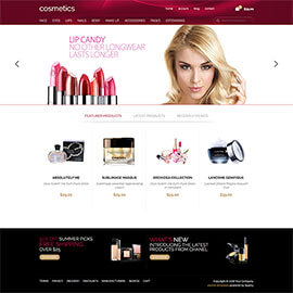 Joomla Cosmetics Template