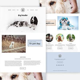 Joomla Dogs Template