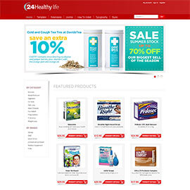 Joomla Pharmacy Template