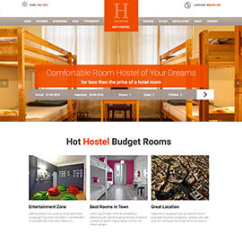 Joomla Hostel Template