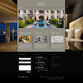 Joomla Hotel Template