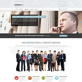 Joomla Law Agency Template