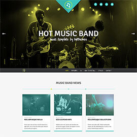 Music Band Template