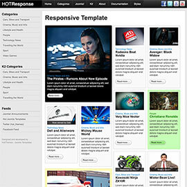 Responsive Joomla Template