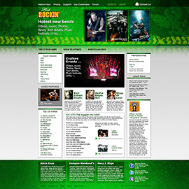 Joomla Music Template