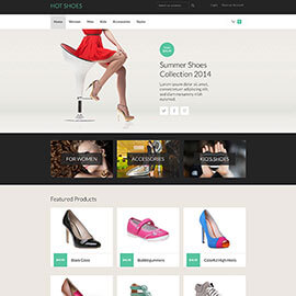 Joomla Shoes Template