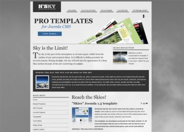 Joomla Sky Template - Hot Skies Image 9