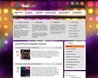 Joomla iPhone template - Hot Mobility Image 4