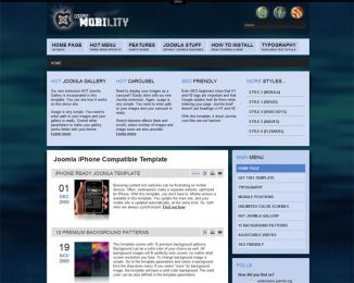 Joomla iPhone template - Hot Mobility Image 5