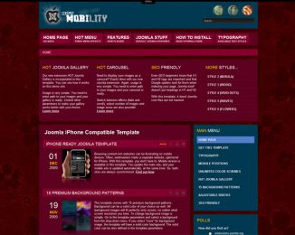 Joomla iPhone template - Hot Mobility Image 6