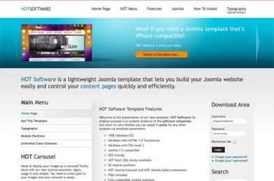 Software Company Template - Hot  Software Image 1