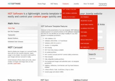 Software Company Template - Hot  Software Image 2