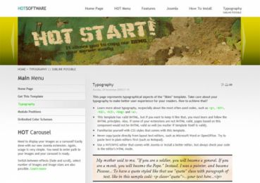 Software Company Template - Hot  Software Image 3