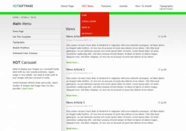 Software Company Template - Hot  Software Image 4