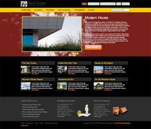 Joomla Real Estate Template - Hot Real Estate Image 2