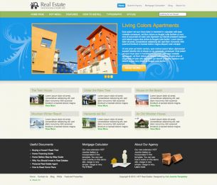 Joomla Real Estate Template - Hot Real Estate Image 4