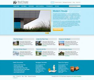 Joomla Real Estate Template - Hot Real Estate Image 5