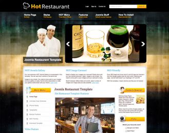 Joomla Restaurant Template - Hot Restaurant Image 5