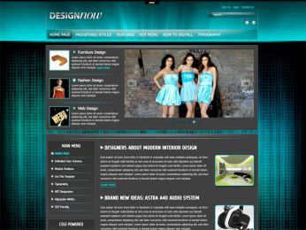 Hot DesignNow - Joomla Design Template Image 1