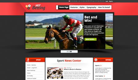 Hot Betting - Sport and Gambling Image 3