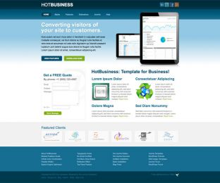 Joomla Business Template - Hot Business Image 1