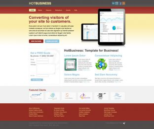 Joomla Business Template - Hot Business Image 2