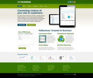 Joomla Business Template - Hot Business Image 3