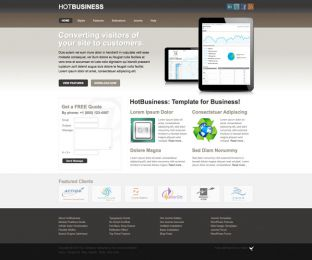 Joomla Business Template - Hot Business Image 4