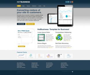 Joomla Business Template - Hot Business Image 5