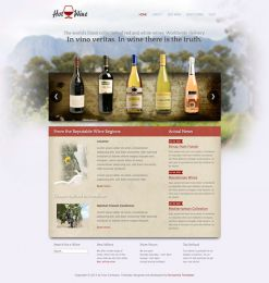 Hot Wine - Joomla Wine Template Image 1