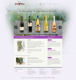 Hot Wine - Joomla Wine Template Image 3