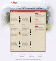 Hot Wine - Joomla Wine Template Image 4