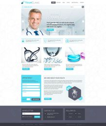 Hot Clinic - Joomla Medical Template Image 1