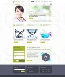 Hot Clinic - Joomla Medical Template Image 2