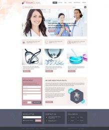 Hot Clinic - Joomla Medical Template Image 3