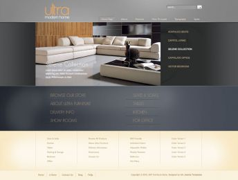 Hot Furniture Store - Joomla Virtuemart Template Image 1
