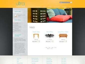 Hot Furniture Store - Joomla Virtuemart Template Image 3