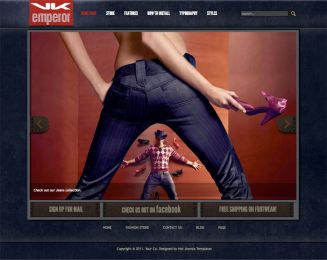 Joomla Fashion Template - Hot Fashion Store Image 1