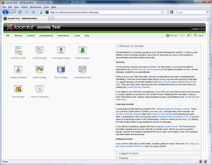 joomla administrator templates - change joomla administrator login page