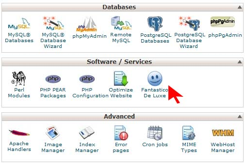 How to install joomla through cpanel with fantastico for How to install wordpress template in cpanel