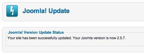 Problems with Joomla 2.5 Update Image 5