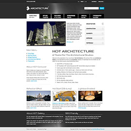 WordPress Architecture Theme