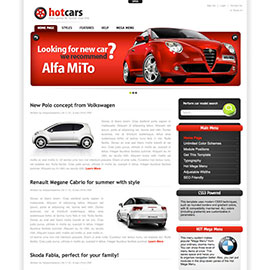 WordPress Cars Theme