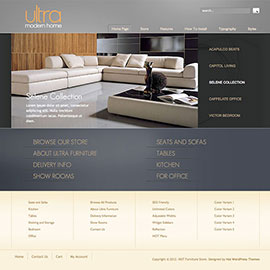 WordPress Furniture Theme