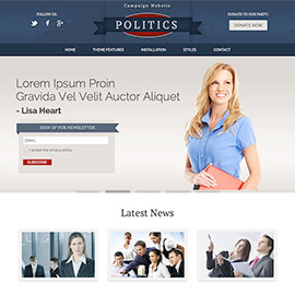 WordPress Politics Theme