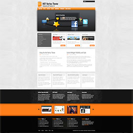 Vortex WordPress Theme