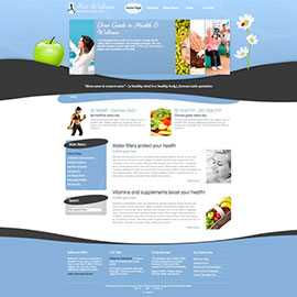WordPress Wellness Theme